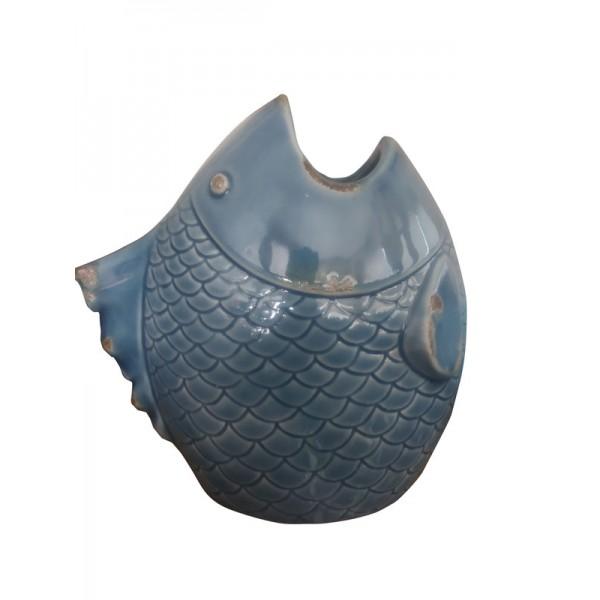 Βάζο Κεραμικό Ψάρι 9678