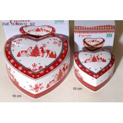 Κουτί Καρδιά Κεραμικό