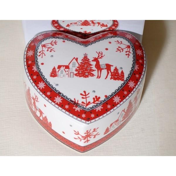 Κουτί Καρδιά Κεραμικό 16cm