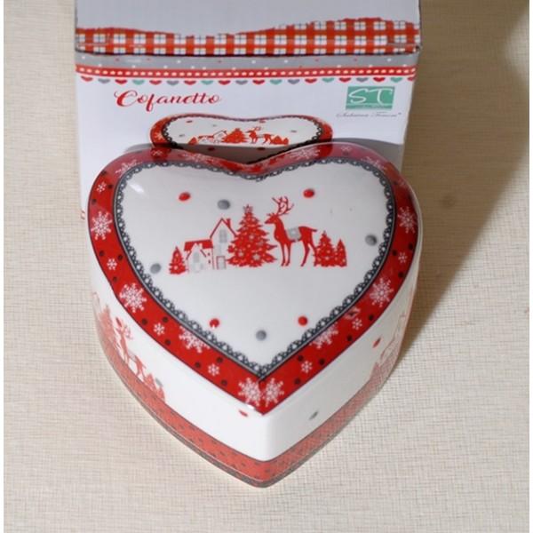 Κουτί Καρδιά Κεραμικό 10cm