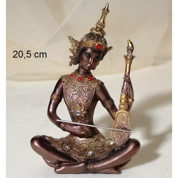 Βούδας καθιστός Πολυεστερικός 20,5cm