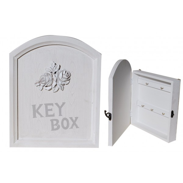 Κλειδοθήκη Ξύλινη με Φιόγκο 164572