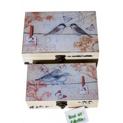 Κουτιά Ξύλινα Με Γυαλί 1063