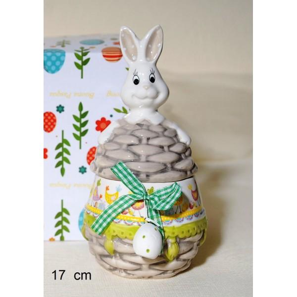 Μπισκοτιέρα  Αυγό-Κουνελάκι S 17cm