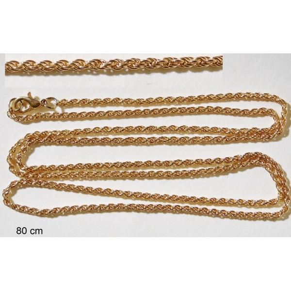 Αλυσίδα για Κοσμήματα 80cm
