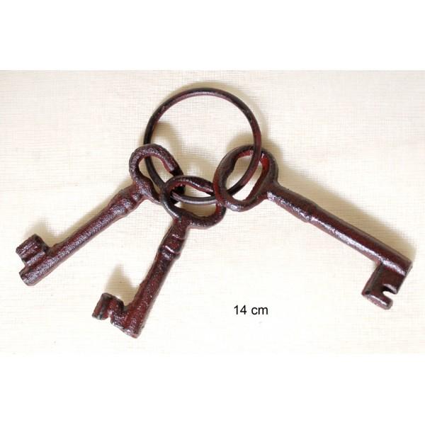 Κλειδιά Σιδερένια Vintage Σ/3 14cm