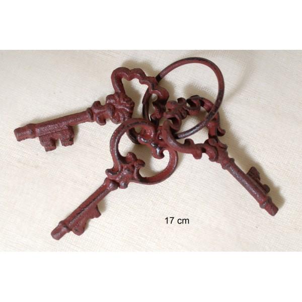 Κλειδιά Σιδερένια Vintage Σ/3 17cm