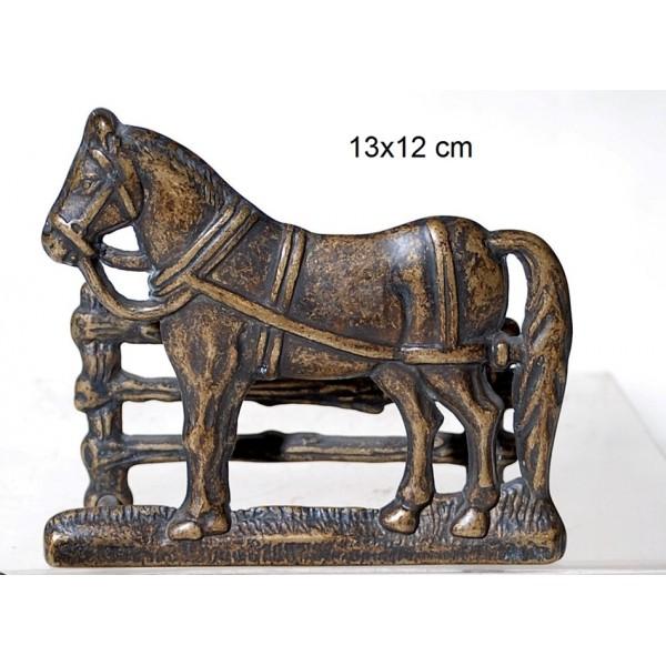 Χαρτοθήκη Μπρούτζινη Άλογο