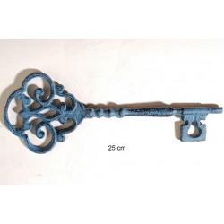 Κλεδί σιδερένιο Vintage Antique Blue