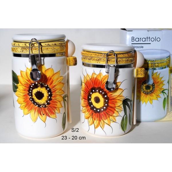 Βαζα αποθήκευσης κουζίνας  Sunflower