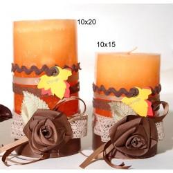 Κερί με διακόσμηση