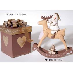 Χριστουγεννιάτικο Κουτί Ξύλινο